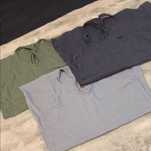 3 cotton racer back night gown sleep shirts